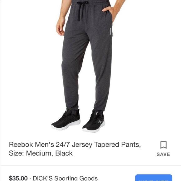 Reebok Men's Tapered Sweatpants
